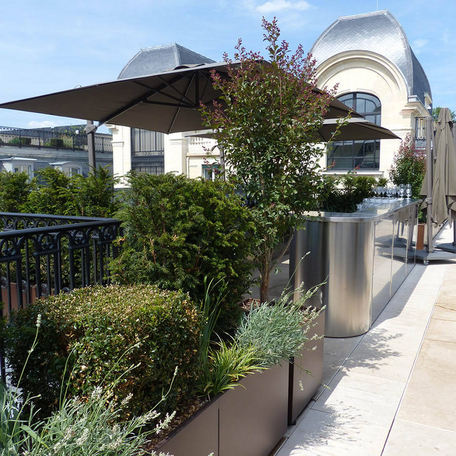 Amenagement terrasse jardin les derni res for Idee amenagement terrasse jardin