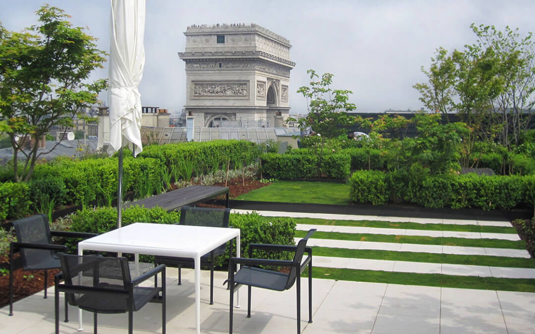 jardin en terrasse. Black Bedroom Furniture Sets. Home Design Ideas