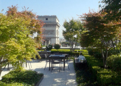 Jardin privatif du Président