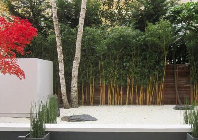 Un jardin zen en plein cœur de Neuilly