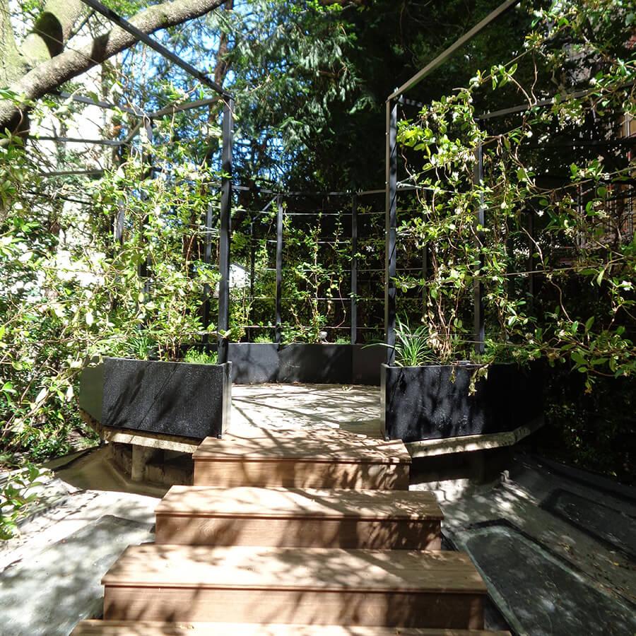 Cr ation d un jardin d ombre paris - Jardin sureleve creation ...