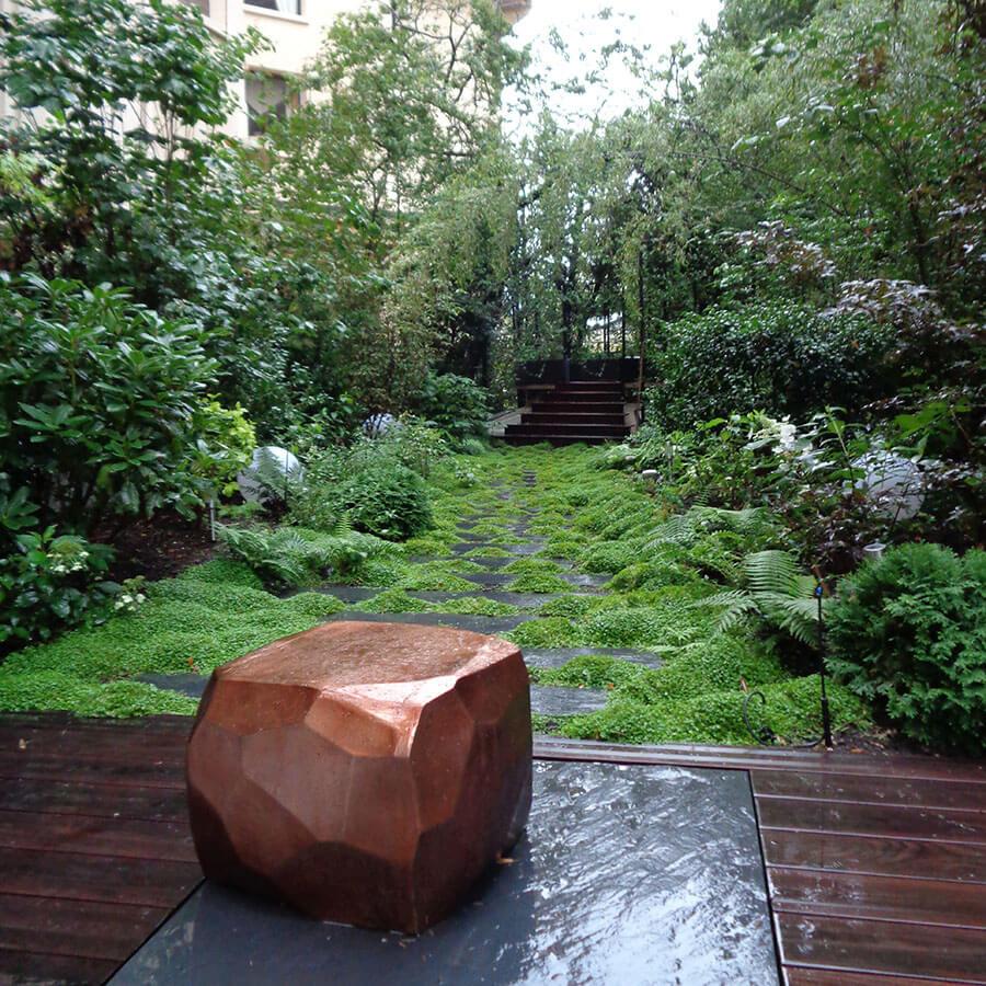 Cr ation d un jardin d ombre paris for Amenagement jardin ombre