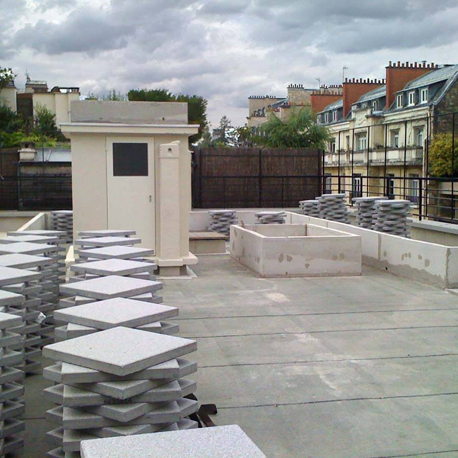 Am nagement paysager d une terrasse for Amenagement d une terrasse