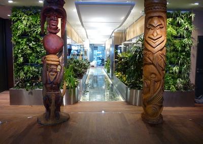 Aménagement végétal intérieur, Maison de la Nouvelle Calédonie