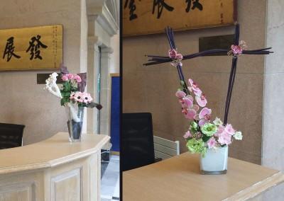 Bouquet type ikebana