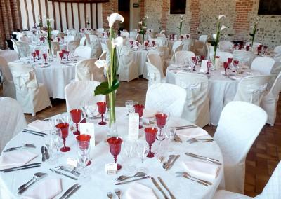 Centres de table, mariage