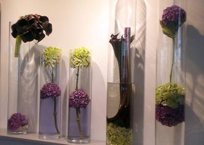 Décoration florale grand prix Arc de Triomphe