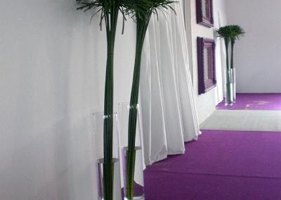 Décoration végétale grand prix Arc de Triomphe