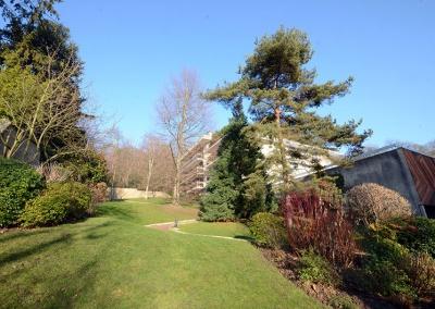Entretien des espaces verts d'une résidence à Montmorency
