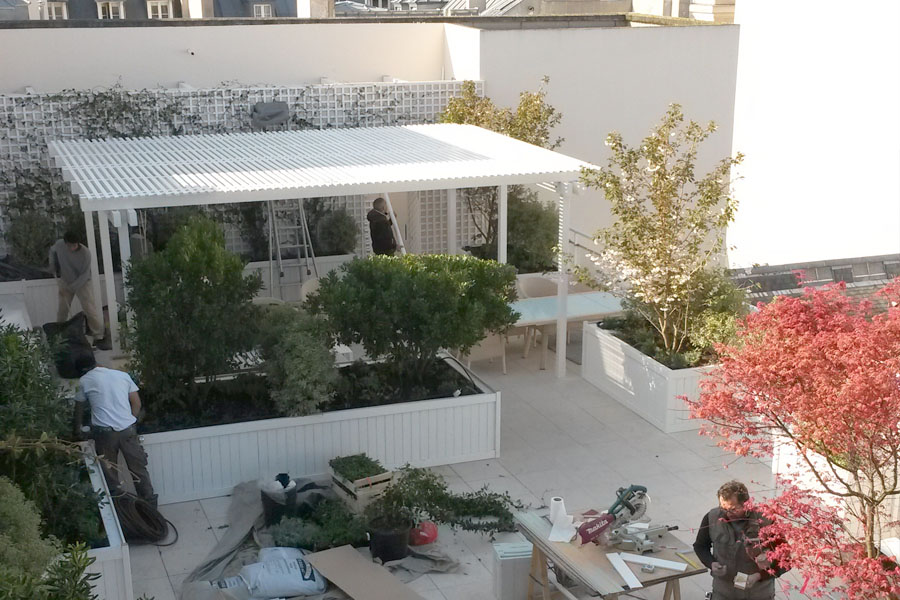 Jardins de l 39 orangerie des jardins d 39 exception - Amenagement terrasse et jardin photo ...