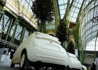 Décoration éphémère – Opération Fiat au Grand Palais