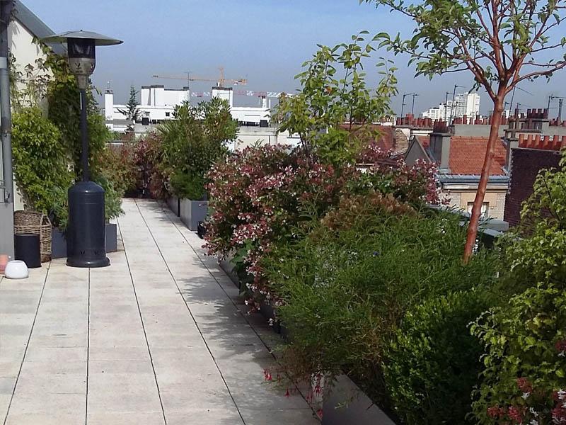 Entretien terrasse privative 92 for Entretien jardin 02