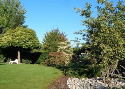 Entretien d'un jardin et taille d'arbres