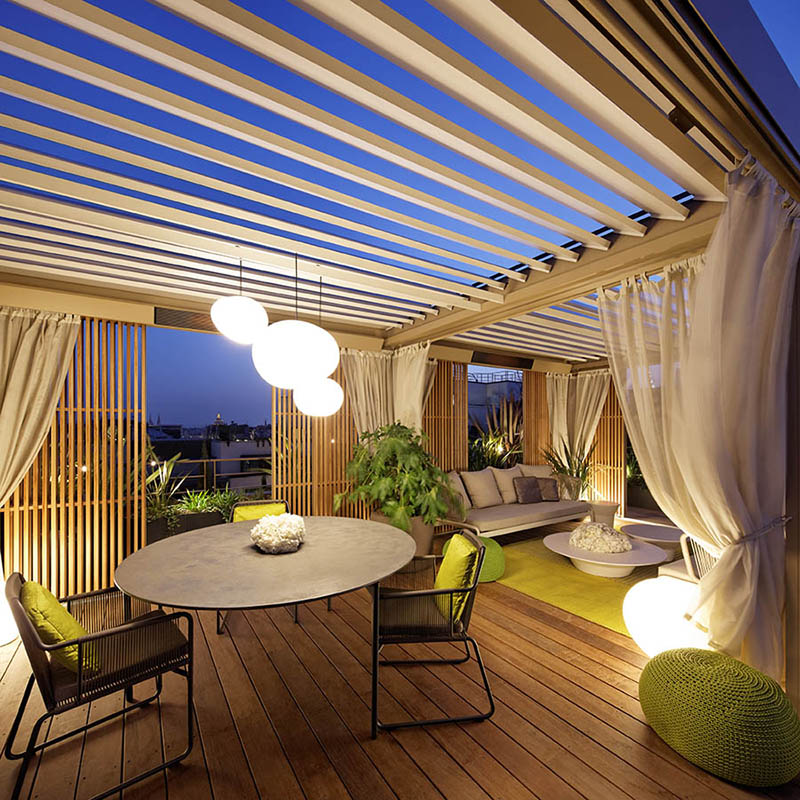 Terrasses D Hotel D Exception Paris Jardins De L Orangerie