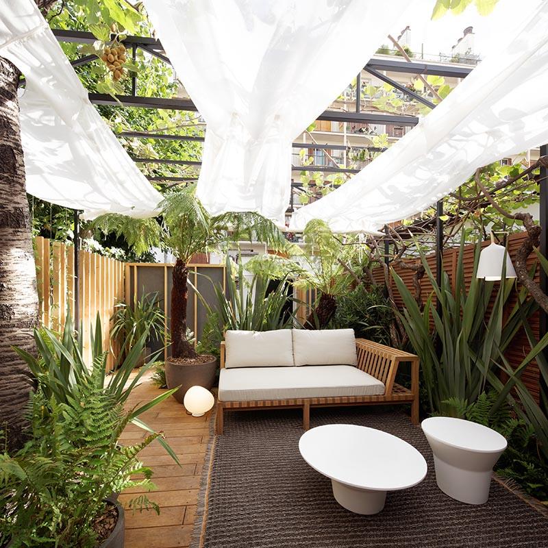 Création d'un petit jardin de 35 m2