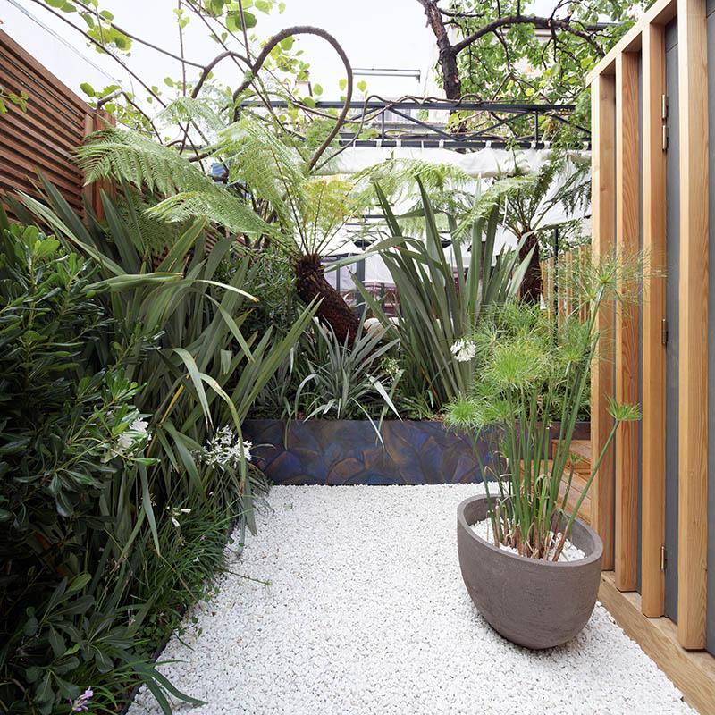 Cr ation d un petit jardin de 35 m2 - Creation petit jardin ...