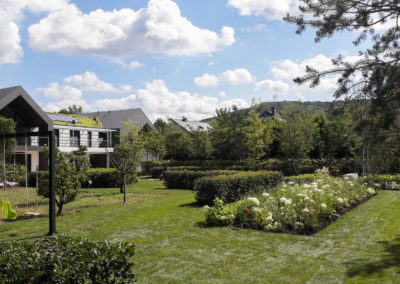 Réalisation d'un jardin en pleine terre au Luxembourg